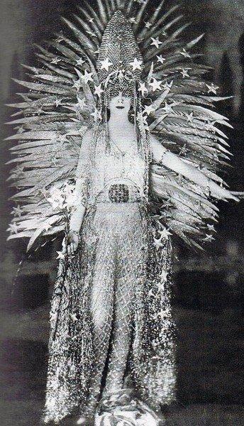 Маркиза в костюме Королева ночи Леона Бакста Медиапроект s-t-o-l.com