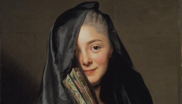 Александр Рослин. Дама под вуалью. 1768 (фрагмент) Медиапроект s-t-o-l.com