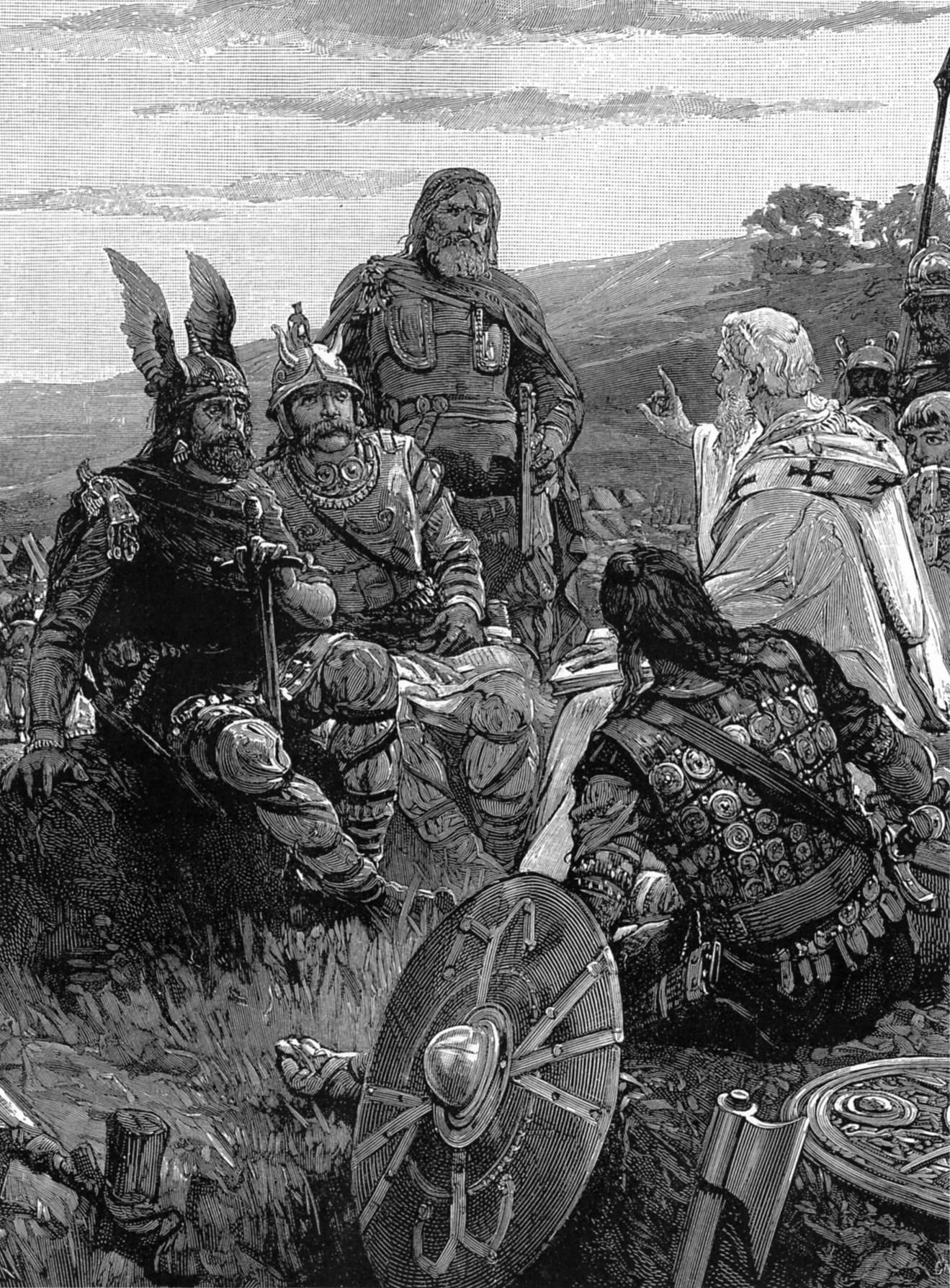 Епископ Вульфила объясняет готам Евангелие Медиапроект s-t-o-l.com