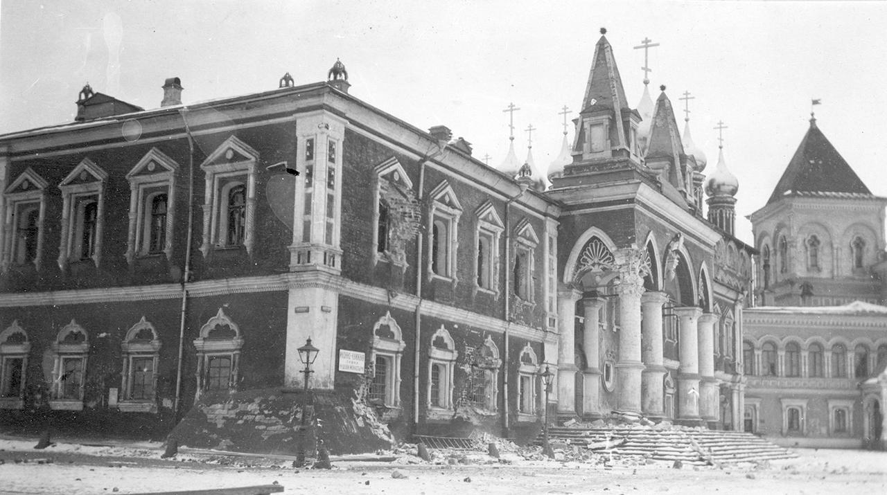 Чудов монастырь. 10 ноября 1917  Медиапроект s-t-o-l.com