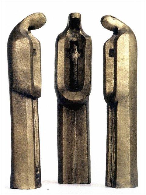 """Памятник """"Оставшимся без погребения"""" """"Скорбящие матери""""(1972 год). Установлен в 1992 году в Москве. (Воины-афганцы выбрали эту скульптуру Сидура, чтобы отдать долг своим братьям-солдатам, не вернувшимся из Афганистана). Медиапроект s-t-o-l.com"""