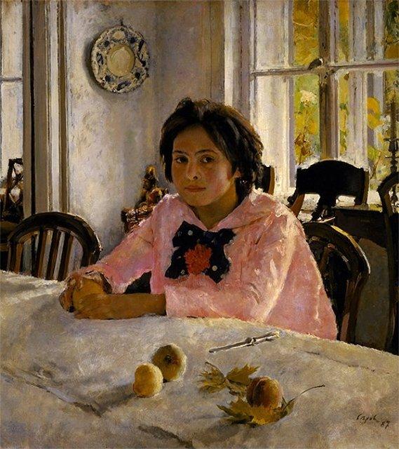 девочка с персиками серов выставка Медиапроект s-t-o-l.com