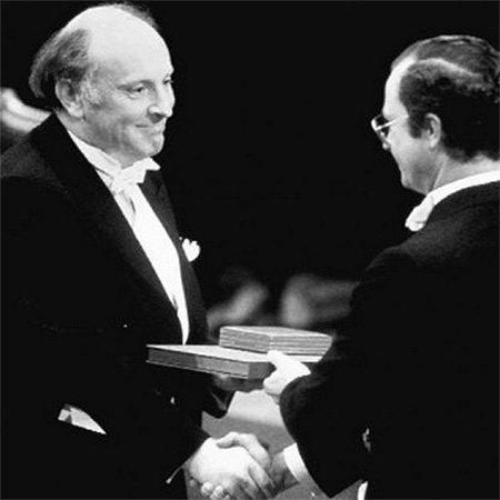 Иосиф Бродский на вручении премии Медиапроект s-t-o-l.com