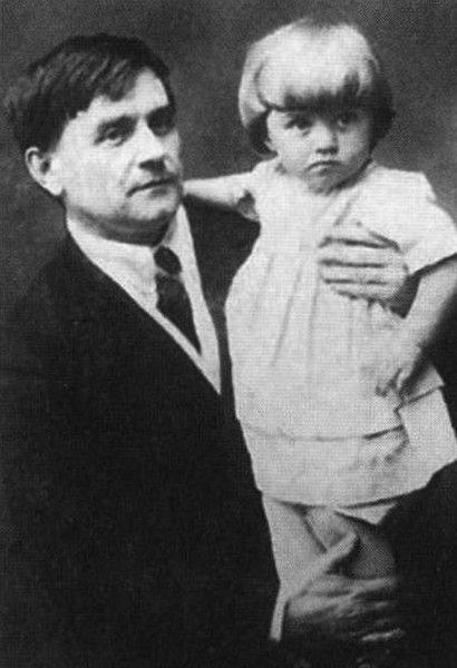 С дочерью Уной. Витебск. 1920-е гг. Медиапроект s-t-o-l.com