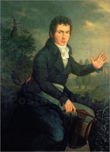 Людвиг ван Бетховен, 1804. Работа Малера Виллиброрда Джозефа  Медиапроект s-t-o-l.com