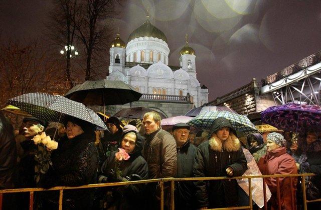 Прощание с Патриархом Алексием II Медиапроект s-t-o-l.com