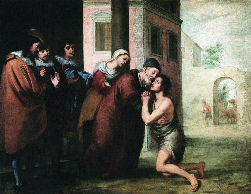 Возвращение-блудного-сына_-Мурильо_1660 Медиапроект s-t-o-l.com