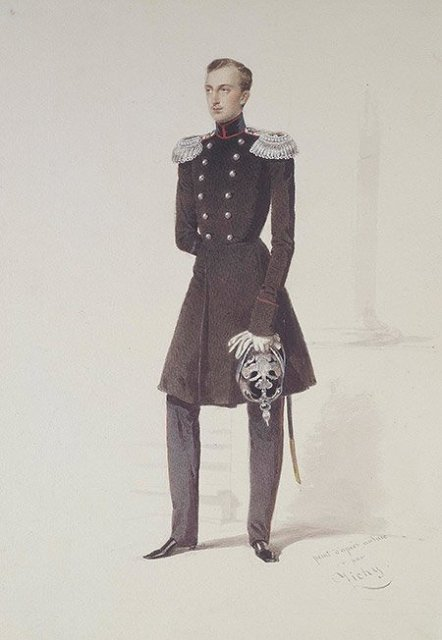 Портрет Великого Князя Николая Николаевича Старшего, 1852. Медиапроект s-t-o-l.com