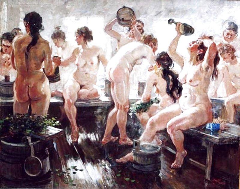 Герасимов. Деревенская баня