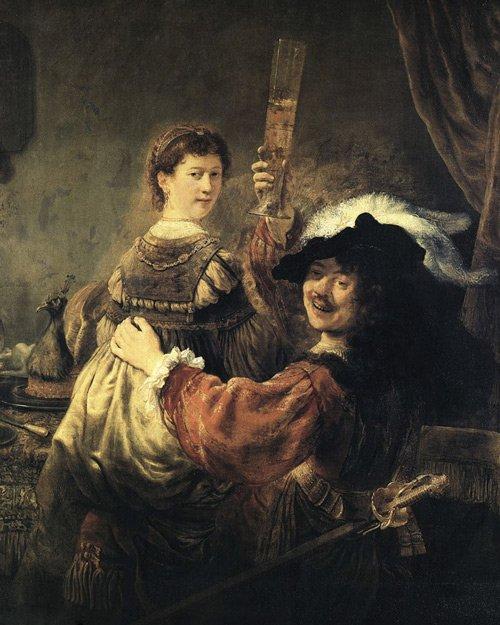 Рембрандт. Блудный сын в таверне. 1635 год Медиапроект s-t-o-l.com