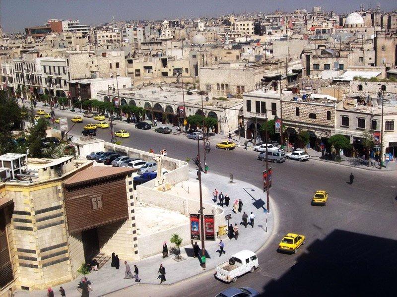 Старый христианский квартал Ждейде в Алеппо Медиапроект s-t-o-l.com