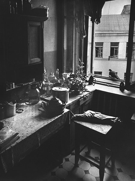 Дашевский. Кухня в коммуналке