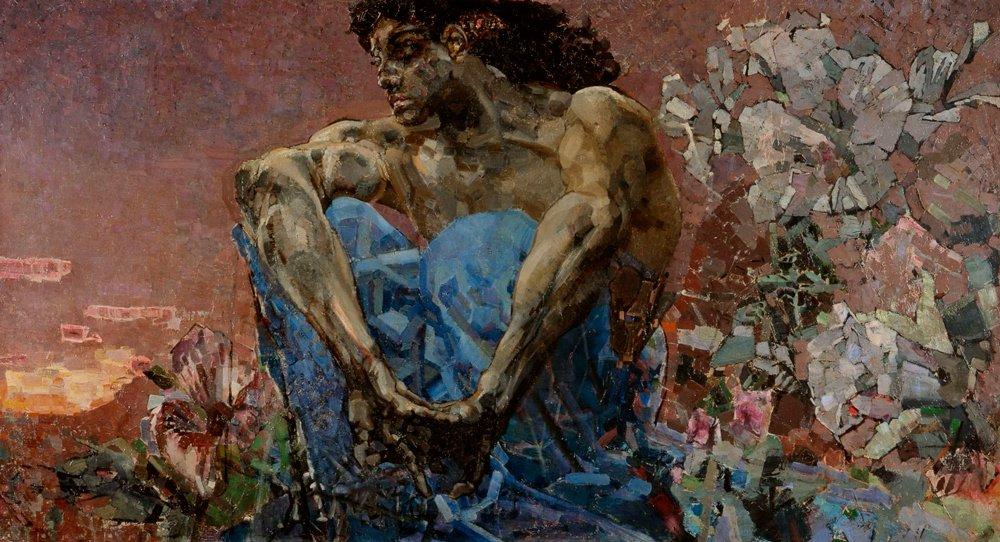 Врубель. Демон сидящий. 1890 год Медиапроект s-t-o-l.com
