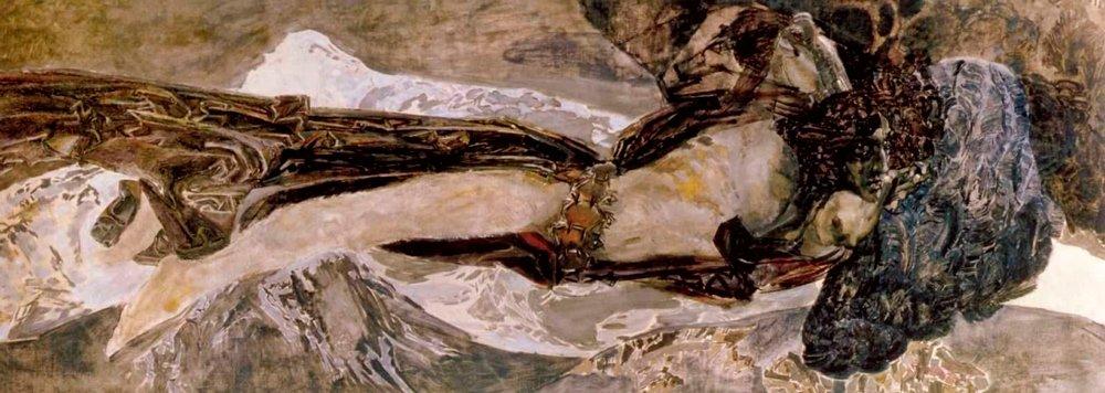М. Врубель. Демон летящий. 1899 год Медиапроект s-t-o-l.com