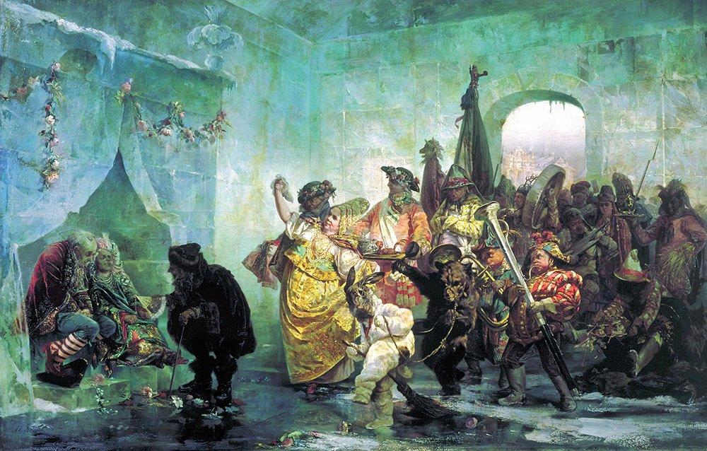 Валерий Якоби. Ледяной дом, 1878 год Медиапроект s-t-o-l.com