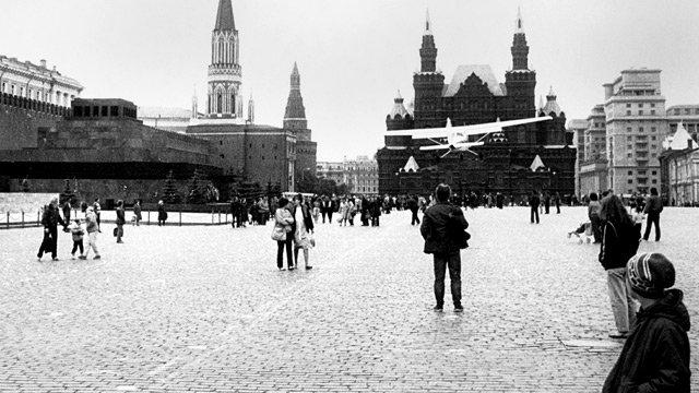 Самолет Руста на Красной площади, 1987 год Медиапроект s-t-o-l.com