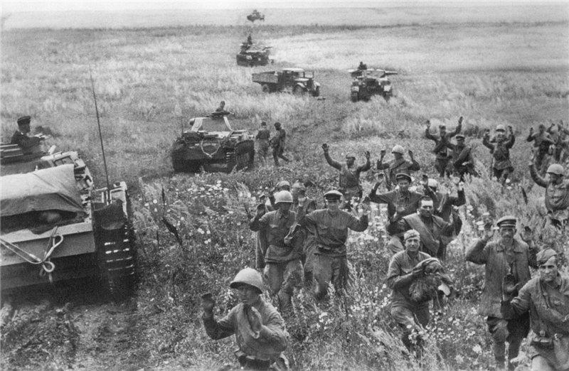 Русские военнопленные, август 1941 год Медиапроект s-t-o-l.com