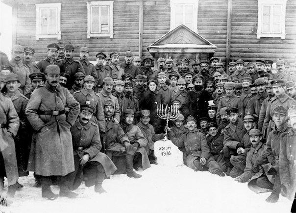 Еврейские Солдаты немецкой армии празднуют хануку Медиапроект s-t-o-l.com