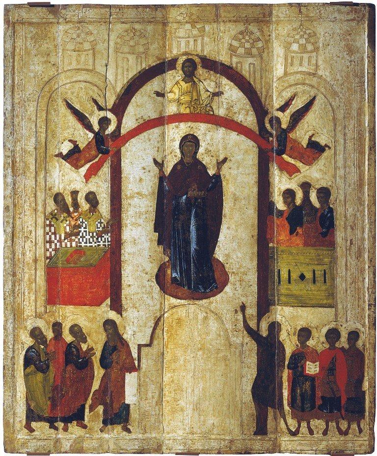 Икона Покров Пресвятой Богородицы Медиапроект s-t-o-l.com