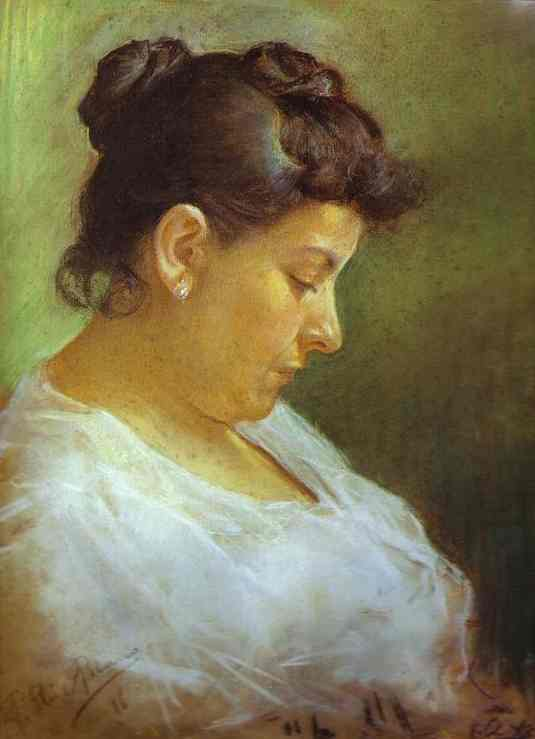 Портрет матери художника, 1896 Медиапроект s-t-o-l.com