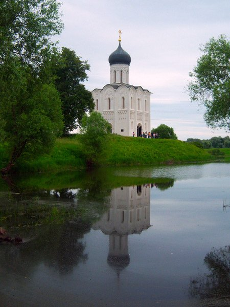 Церковь Покрова на Нерли, вторая половина XII века Медиапроект s-t-o-l.com