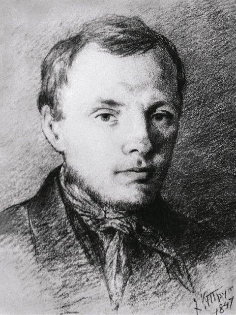 Портрет Ф. М. Достоевского. Рисунок К. А. Трутовского. 1847 Медиапроект s-t-o-l.com