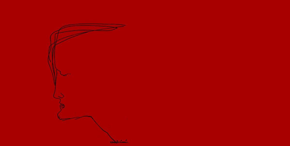 """Иллюстрация Эрнста Неизвестного к роману Достоевского """"Преступление и наказание"""""""