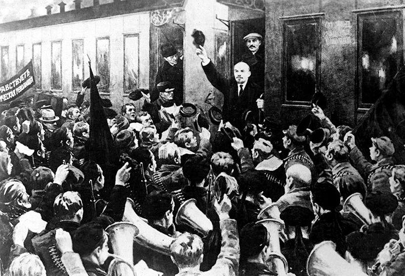 Прибытие Ленина на Финляндский вокзал Медиапроект s-t-o-l.com