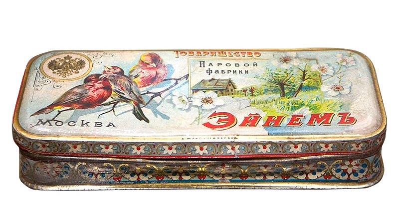 Коробочка для конфет тов. Эйнем Медиапроект s-t-o-l.com
