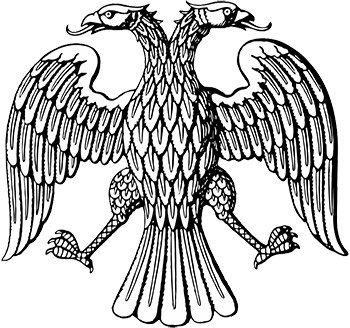 Гербовый орёл на печати Временного правительства. 1917 год Медиапроект s-t-o-l.com