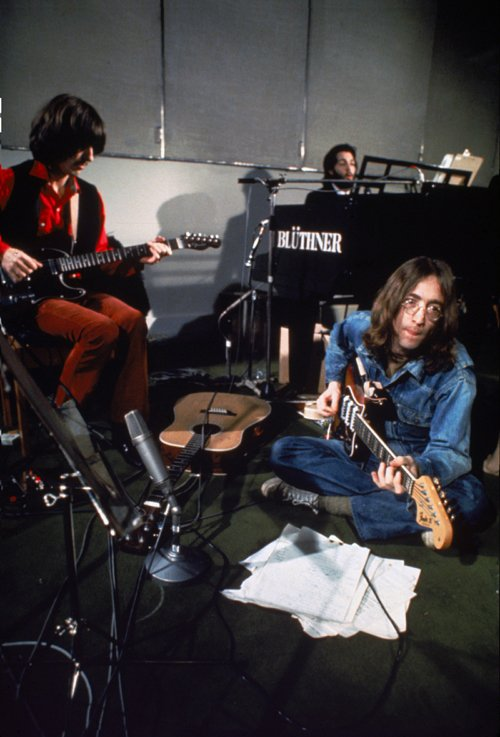 "Запись альбома ""Let it be"", 1970 год Медиапроект s-t-o-l.com"