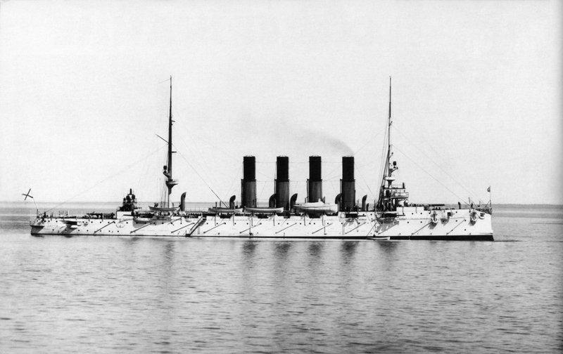 """Бронепалубный крейсер """"Варяг"""", 1901 год Медиапроект s-t-o-l.com"""
