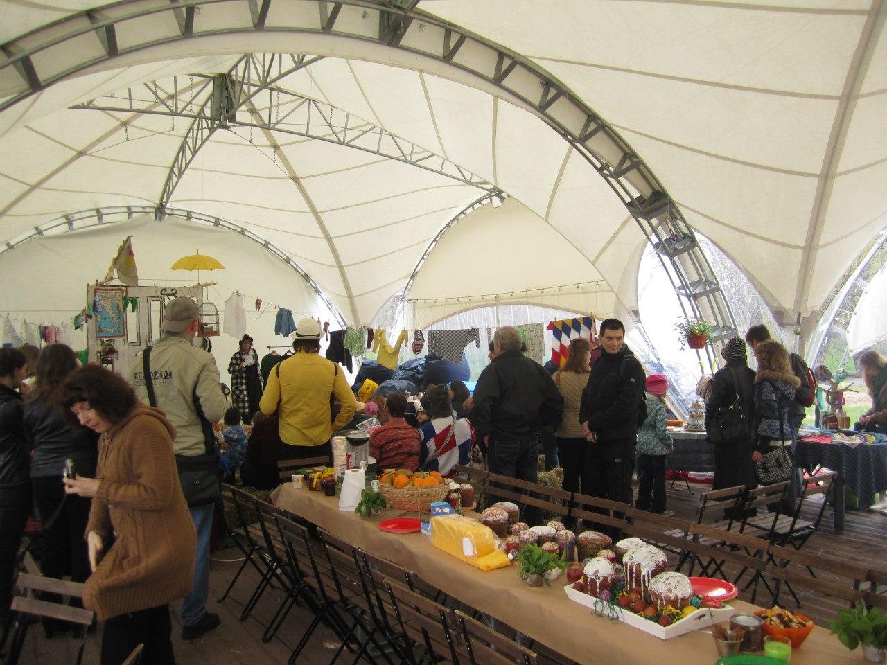 Пасхальный Cook&Talk с Andrew Grenfell в Парке Красная Пресня, 2013 год Медиапроект s-t-o-l.com