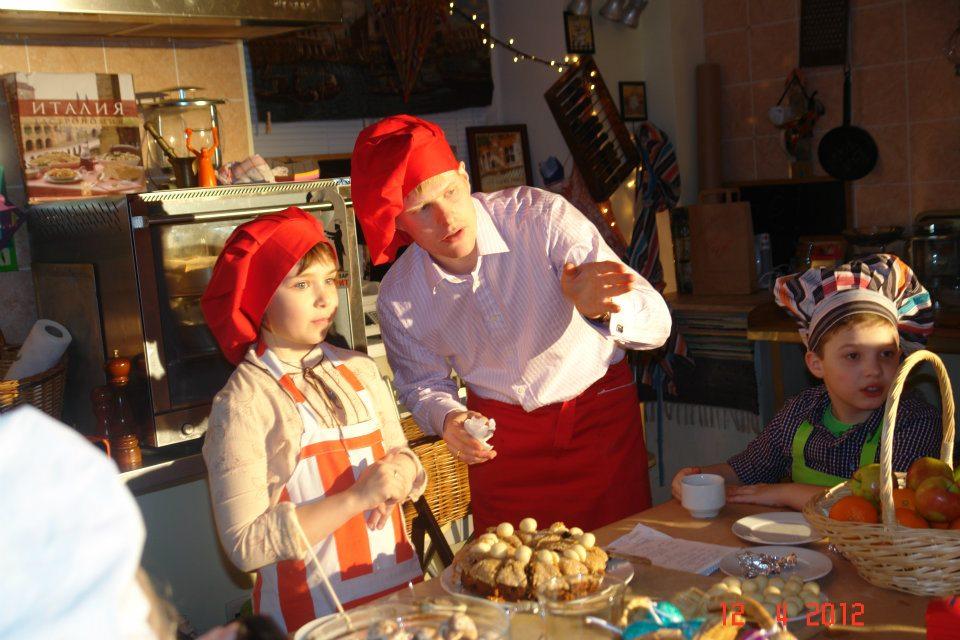 Пасхальный Cook&Talk c Эндрю и Пенни Гренфелл в Театре Вкуса, 2012 г. Медиапроект s-t-o-l.com