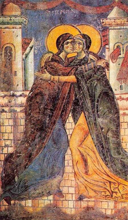Встреча Марии и Елизаветы. Посещение Марии Медиапроект s-t-o-l.com
