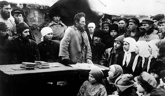 Агитация большевиков в деревне Медиапроект s-t-o-l.com