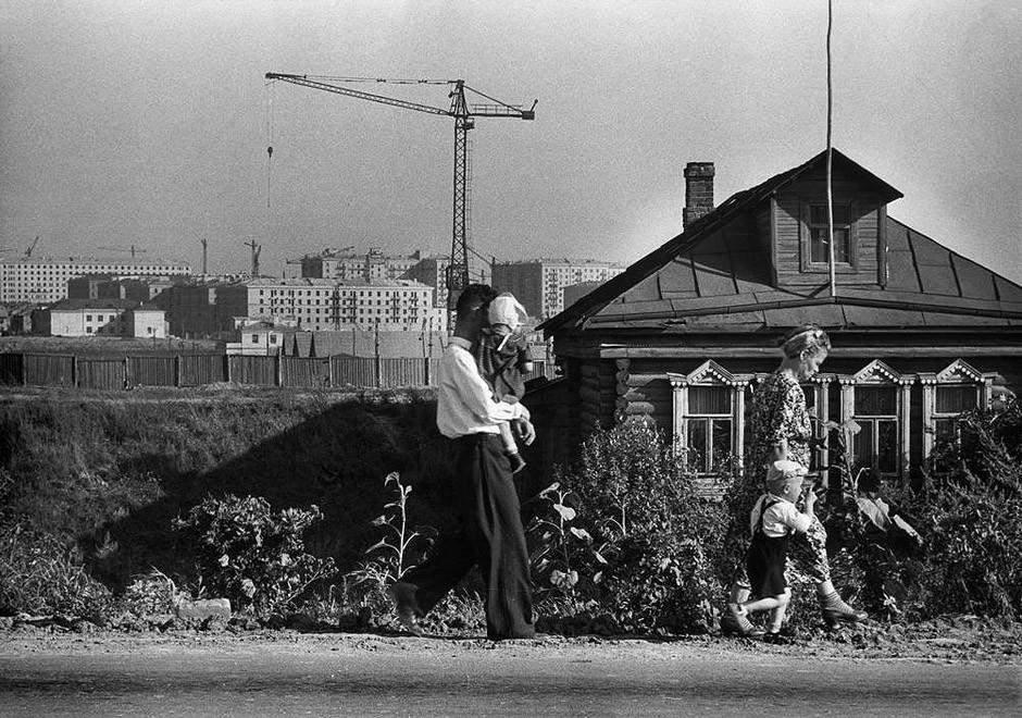 А. Картье-Брессон. Строящаяся Москва, конец 50-х годов Медиапроект s-t-o-l.com