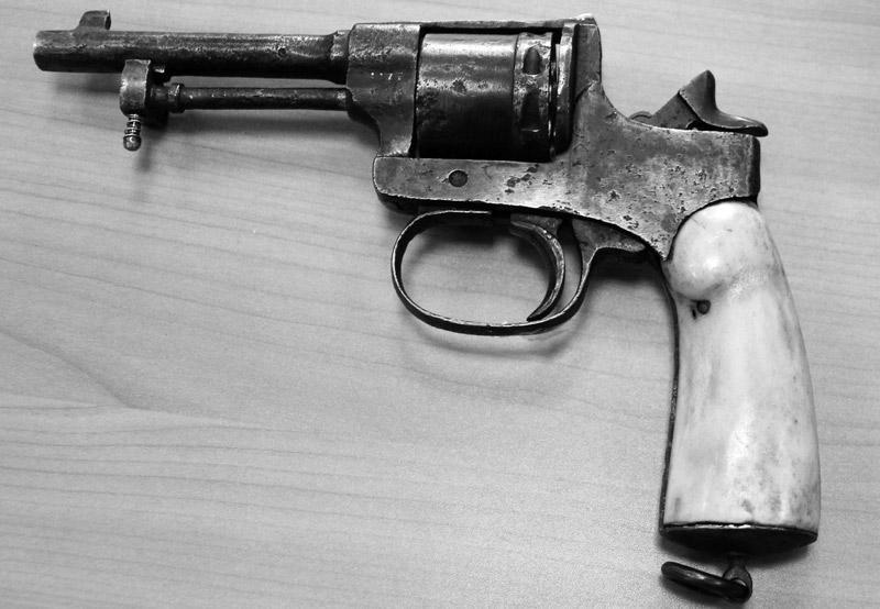 Револьвер Раста и Гассера 1898 года. Фото с сайта Мелихова Медиапроект s-t-o-l.com
