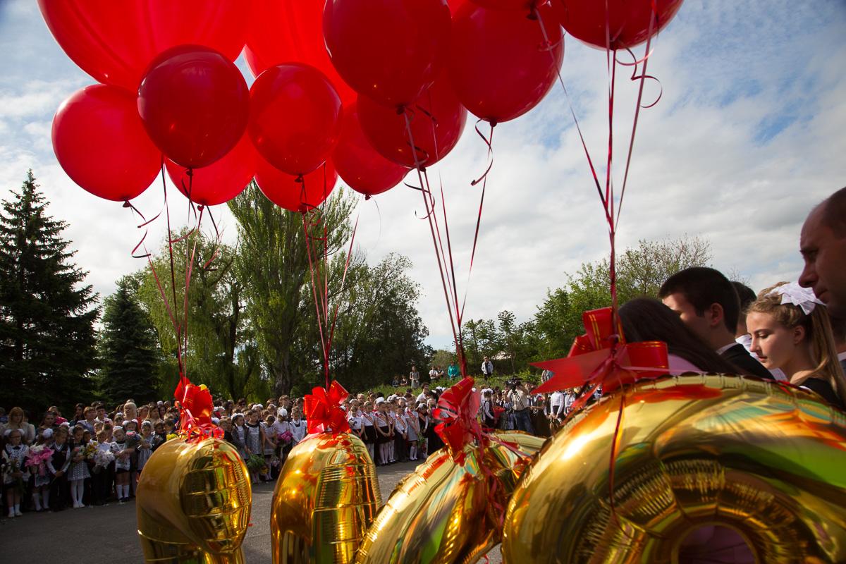 Воздушные шары скоро полетят в небо. Выпуск-2017 к старту готов. Медиапроект s-t-o-l.com