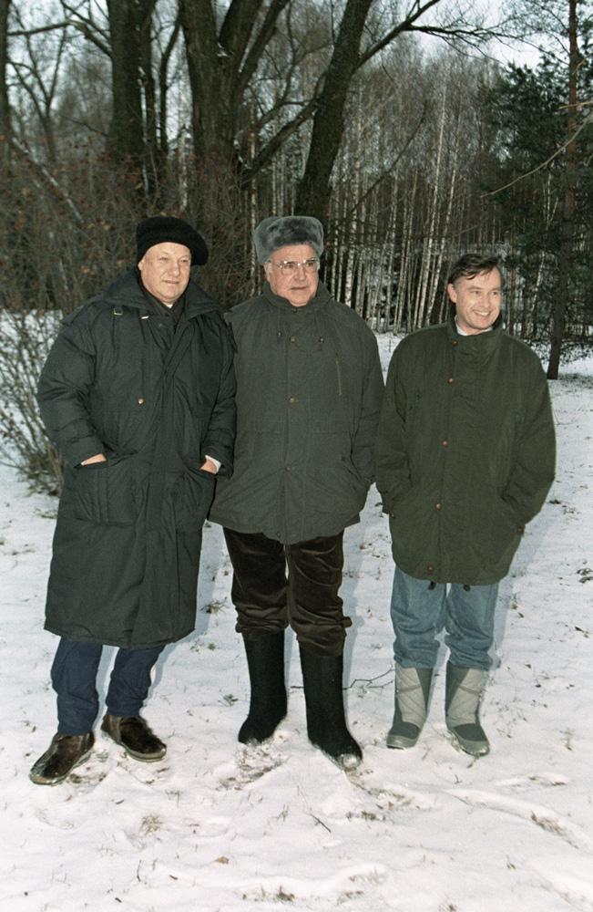 Борис Ельцин, Гельмут Коль Медиапроект s-t-o-l.com