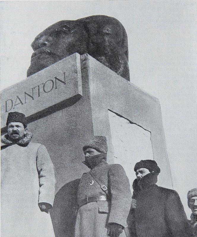 Открытие памятника Дантону в Москве.1918 Медиапроект s-t-o-l.com