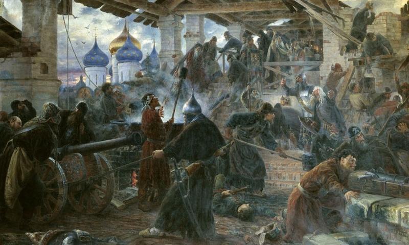 Оборона Троице-Сергиевой лавры Медиапроект s-t-o-l.com