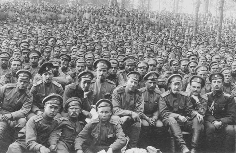 Солдаты и офицеры русской армии, 1916 год Медиапроект s-t-o-l.com