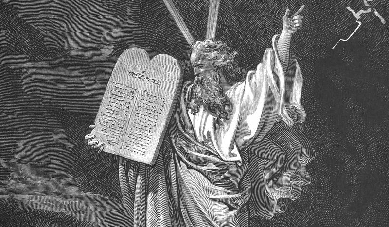 Поль Гюстав Доре. Моисей со скрижалями Завета Медиапроект s-t-o-l.com
