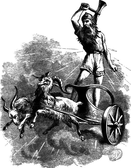 В колесницу запряжена рабыня