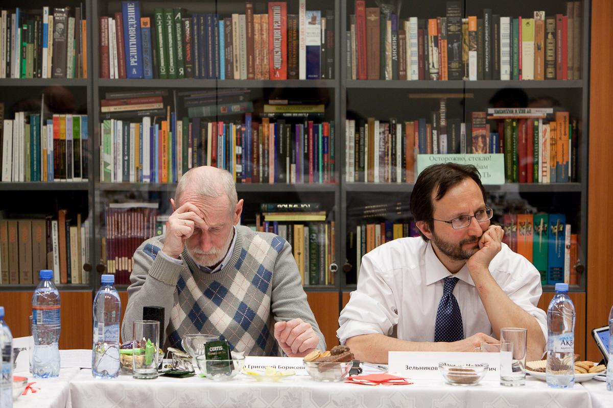 М.И. Зельников (справа). Фото А. Каплина Медиапроект s-t-o-l.com