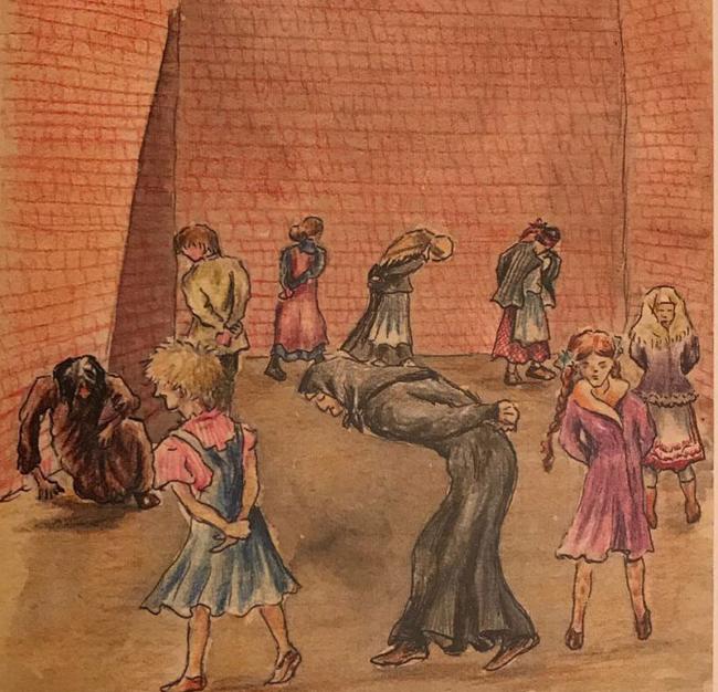 """Иллюстрация: Ефросинья Керсновская. Из книги """"Сколько стоит человек Медиапроект s-t-o-l.com"""