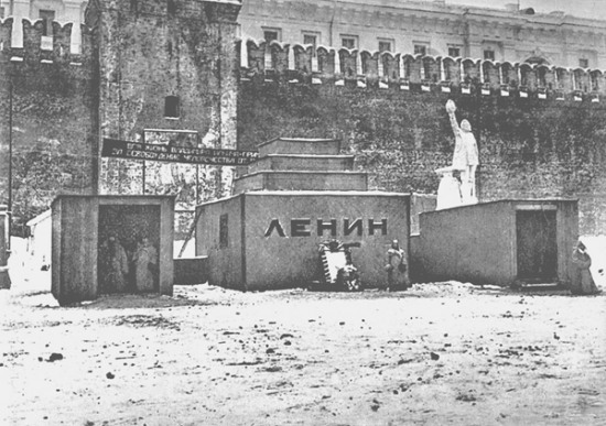 Первый Мавзолей по проекту архитектора А.В. Щусева Медиапроект s-t-o-l.com