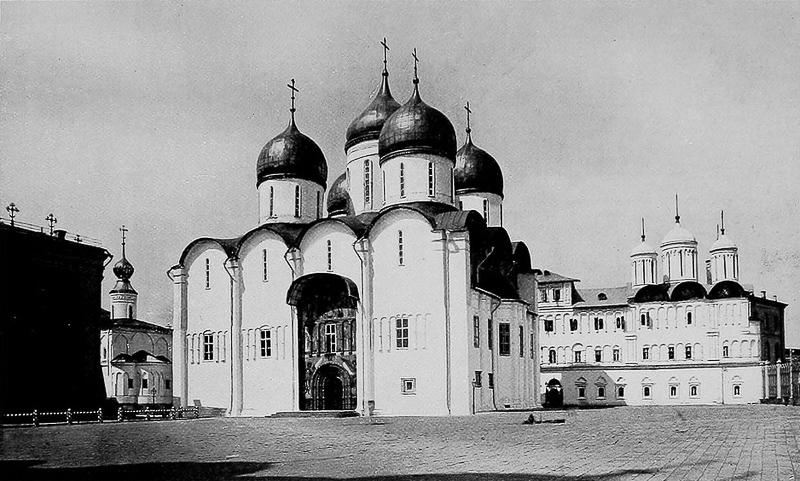 Успенский собор Кремля Медиапроект s-t-o-l.com