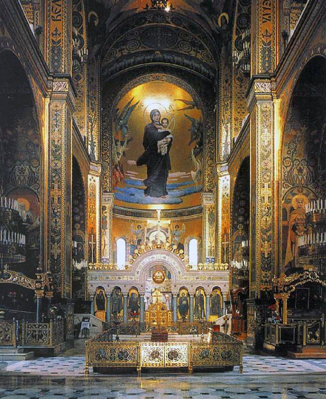 Росписи Владимирского собора в Киеве Медиапроект s-t-o-l.com